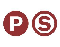 Red philadelphia slick logo